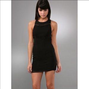 NWT Alice + Olivia asymmetrical bodycon dress